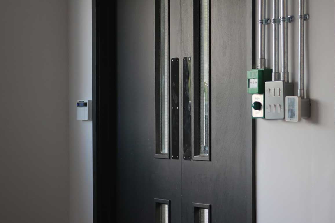 Keypad for intruder control system supplied by B9 Fire and Security