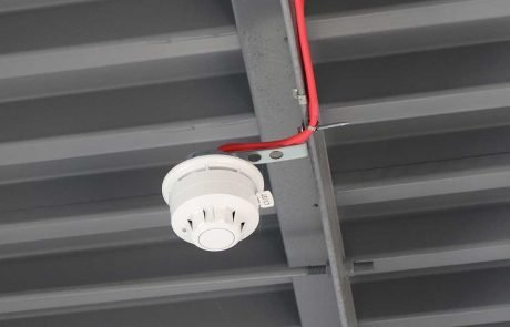 Smoke Detector installed by B9 Fire and Security