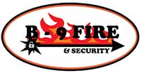 B-9 Fire & Security Logo